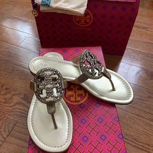 Tory Burch Miller Embellished Sandal 7